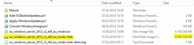 Windows Explorer - Ergebnis